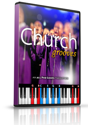 Church Grooves Vol. 1 LMS for MIDIculous Software