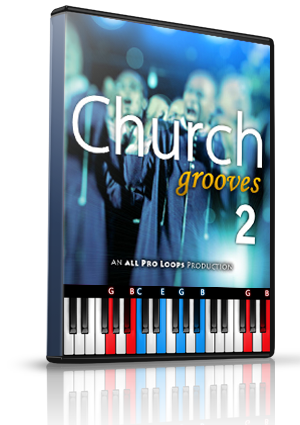 Church Grooves Vol. 2 LMS for MIDIculous Software