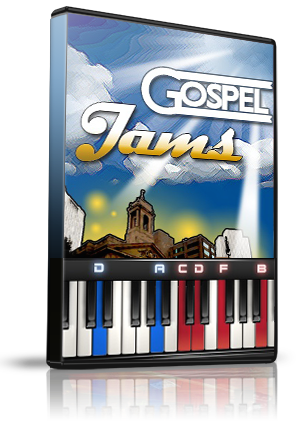 Gospel Jams LMS Lessons (5) for MIDIculous Software