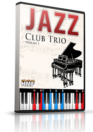 Jazz Club Trio Vol. 1 LMS for MIDIculous Software