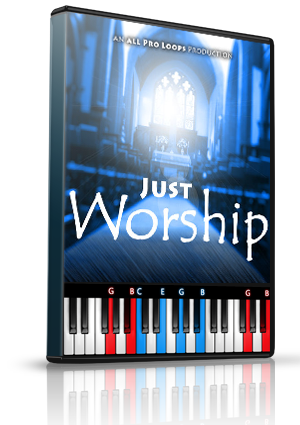 Just Worship Vol. 1 LMS for MIDIculous Software