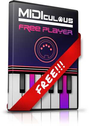 MIDIculous 4 FREE Player