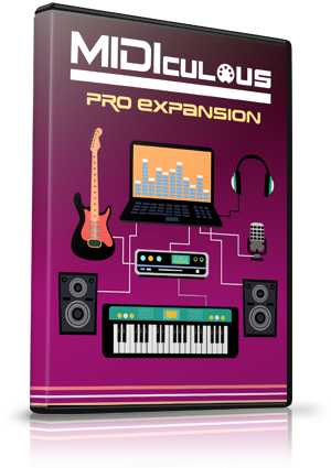 MIDIculous 4 Pro Expansion
