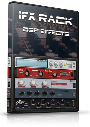GM iFX Rack Digital Effects Rack (VST/AU/AAX)