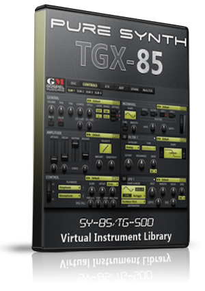 TGX-85 | Yamaha SY85/TG500 Sample Library for UVI