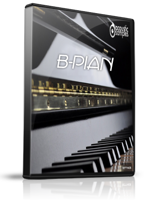 B-Piano Upright Sounds for Yamaha Motif XS/XF/MOXF/MONTAGE