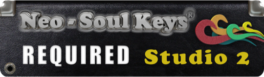 This expansion pack requires Neo-Soul Keys Studio 2